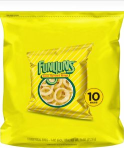 Funyuns Onion Flavored Rings, 0.75 oz Bags, 10 Count