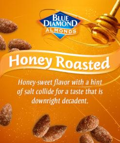 Blue Diamond Honey Roasted Almonds 6 oz. Canister