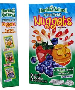 Au'some All Natural Fruit Juice Kosher Nuggets, 4.8 oz, Pack of 3