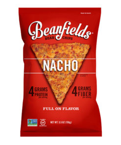 Beanfields Nacho Bean & Rice Chips, 5.5 oz, (Pack of 6)