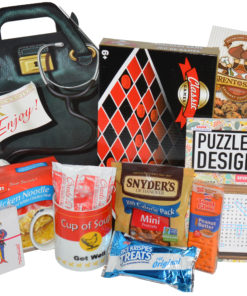 Get Well Soon Care Package with Checker Board