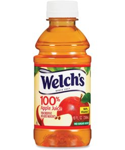 (24 pack) Welch's 100% Apple Juice, 10 Fl. Oz.