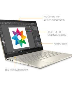 HP Pavilion 15.6″, Intel Core i5, 8GB RAM, 512GB SSB+32GB Optane, Lunar Gold