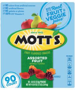 Mott's Fruit Snacks, 90ct