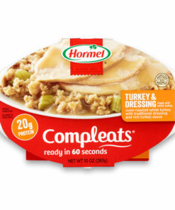 (6 pack) Hormel Compleats Turkey & Dressing, 10 Ounce