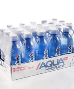 AQUAHydrate pH 9+ Water, 16.9 Fl Oz, 24 Ct
