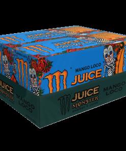 Monster Mango Loco Energy Juice, 16 fl oz (20 Cans)