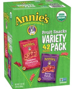 Annie's Fruit Snacks Variety Pack 42 pouches