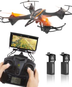 SereneLife SLRD36WIFI – WiFi Drone Quad-Copter Wireless UAV with HD Camera + Video Recording