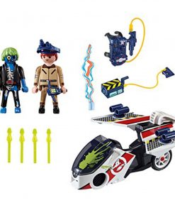 PLAYMOBIL The Real Ghostbusters Stantz with Skybike