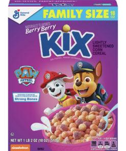 Berry Berry Kix PAW Patrol Cereal, Whole Grain, 18 oz