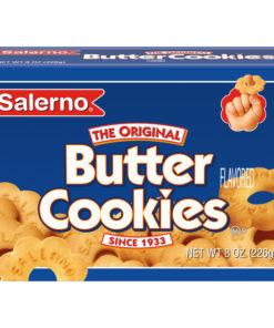 Salerno Original Butter Cookies, 8 Oz