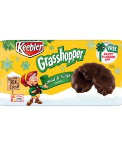Keebler Grasshopper Mint & Fudge Cookies 10 oz Tray