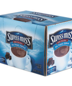 Swiss Miss Hot Cocoa Mix, No Sugar Added, 24 packets