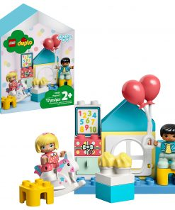 LEGO DUPLO Town Playroom 10925 Building Play Set, Great Developmental Toy for Toddlers (17 Pieces)