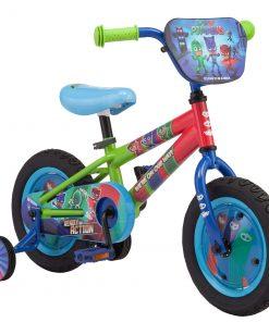 E1 PJ Masks: Catboy Kids Bike, 12-inch wheels, blue, on Disney Junior