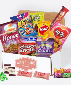 The Taste of Asia Snack Mix Package by Worldwide Treats