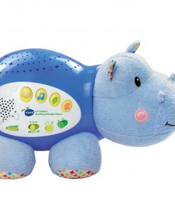 VTech Lil' Critters Soothing Starlight Hippo, Plush Baby Crib Toy
