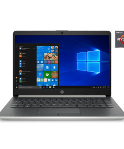 HP 14 Slim Ryzen 3 3200U, AMD Radeon, Vega 3 Graphics, 4GB SDRAM,128GB SSD, Whisper Silver 14-dk0022wm