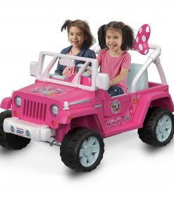 Power Wheels Disney Minnie Mouse Happy Helpers Jeep Wrangler Ride-On