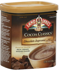 Land O Lakes Chocolate Supreme Hot Cocoa Mix, 14.8 oz (Pack of 6)