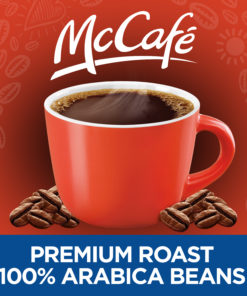 McCafe Premium Roast Medium Ground Coffee, Caffeinated, 30 oz Can