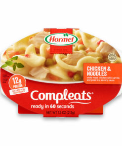 (6 pack) Hormel Compleats Noodles & Chicken, 7.5 Ounce