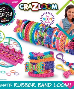 Cra-Z-Art Be Inspired Cra-Z-Loom Ultimate Rubber Band Loom