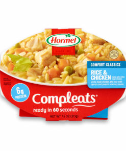 (6 pack) Hormel Compleats Rice & Chicken, 7.5 Ounce