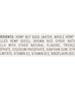 (3 pack) Pacific Foods Hemp Milk, Vanilla, 32 fl oz
