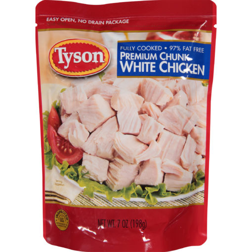 (3 Pack) Tyson® Premium Chunk White Chicken Breast, 7 oz.