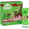 Skout Organic Kids Bars, Apple Pie, 6 bars, 0.85oz each