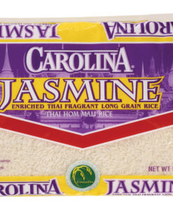 Carolina Jasmine Enriched Thai Fragrant Long Grain Rice, 5-Pound Bag