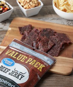 Great Value Peppered Beef Jerky Value Pack, 10 oz