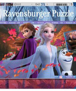 Ravensburger – Frozen II – Frosty Adventures – Two 24 Piece Kids Jigsaw Puzzles