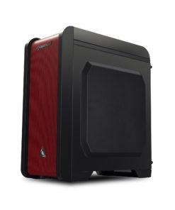Cybertron GameStation AMD Ryzen 3 2200G 3.50GHz (4 Cores) 8GB DDR4 1TB HDD 120GB SSD AMD RX 580 4GB GDDR5 Graphics WiFi MS Windows 10 Home 64 Bit (Black/Red)