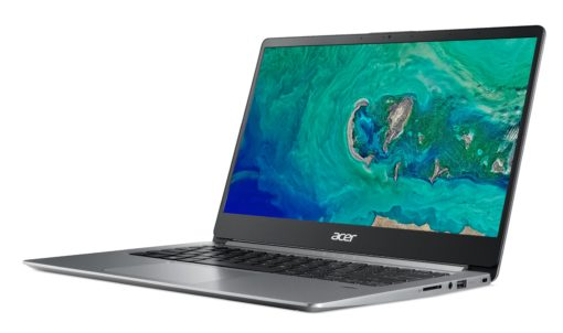 Acer Swift 1, 14″ Full HD Notebook, Intel Pentium Silver N5000, 4GB, 64GB SSD, Windows 10 Home in S mode, Office 365 Personal 1-Year, SF114-32-P2PK