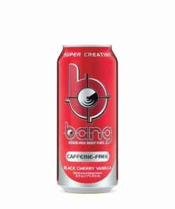 (12 Cans) Bang Caffeine Free Black Cherry Vanilla, 16 fl oz