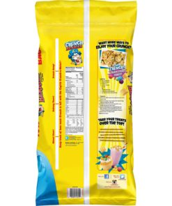 Cap'n Crunch Breakfast Cereal, Crunch Berries, 40 oz Bag