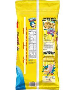 Cap'n Crunch Breakfast Cereal, Crunch Berries, 40 oz Bag