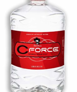 CForce Natural Artesian Bottled Water, Naturally High pH, 12 oz (Pack – 4)