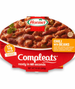 (6 pack) Hormel Compleats Chili with Beans, 9 Ounce