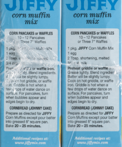 (12 Boxes) Jiffy Corn Muffin Mix, 8.5 oz