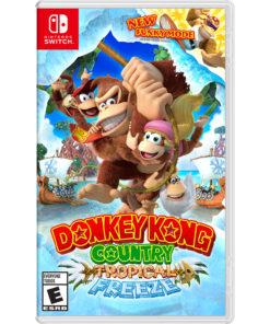 Donkey Kong Country: Tropical Freeze, Nintendo, Nintendo Switch, 045496592660