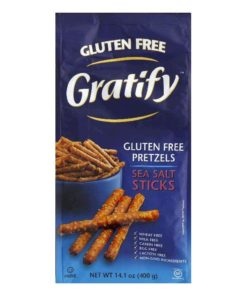 Gratify Pretzel Stick, 14.1 OZ (Pack of 6)
