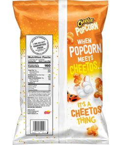 Cheetos Cheddar Popcorn, 7 oz Bag