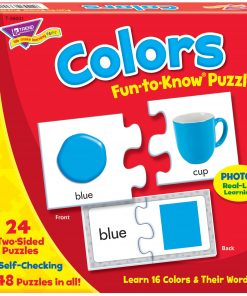 Trend, TEP36001, Colors Fun-to-know Puzzles, 1 Each, Multicolor