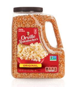 Orville Redenbacher's Yellow Popcorn Kernels, 5 Lb 12 Oz. Jar