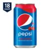 Pepsi Wild Cherry, 12 oz Cans, 18 Count