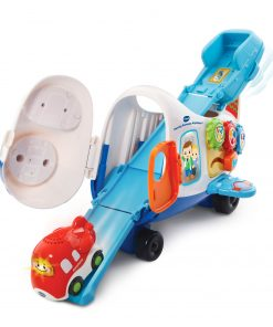 VTech Go! Go! Smart Wheels Racing Runway Airplane with Toy Vehicle